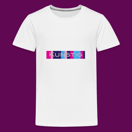 Hoofdlogo - Teenager Premium T-shirt