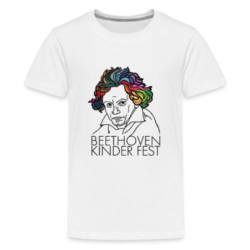 Beethoven Kinder Fest - Teenager Premium T-Shirt