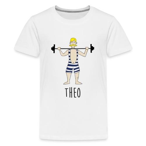 Gewichtheber - Teenager Premium T-Shirt