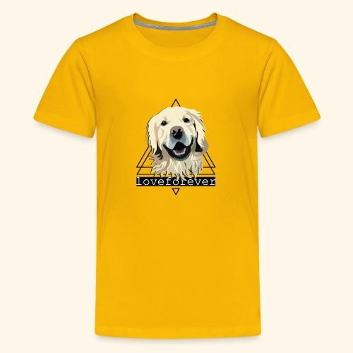 RETRIEVER LOVE FOREVER - Camiseta premium adolescente