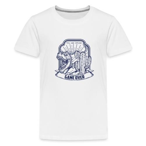 T Rex - Camiseta premium adolescente
