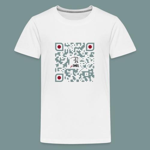 pEMIEL QR - Teenager Premium T-shirt