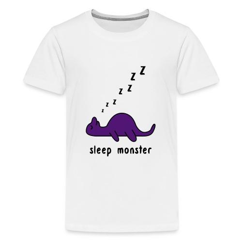 Sleep Monster - Teenage Premium T-Shirt