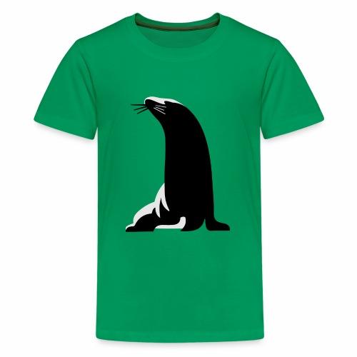 Seehund - Teenager Premium T-Shirt