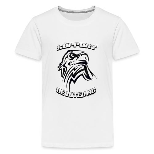 SUPPORT DEVOTEDMC E - Premium T-skjorte for tenåringer