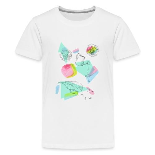 Frühlingshafter Garten - Teenager Premium T-Shirt