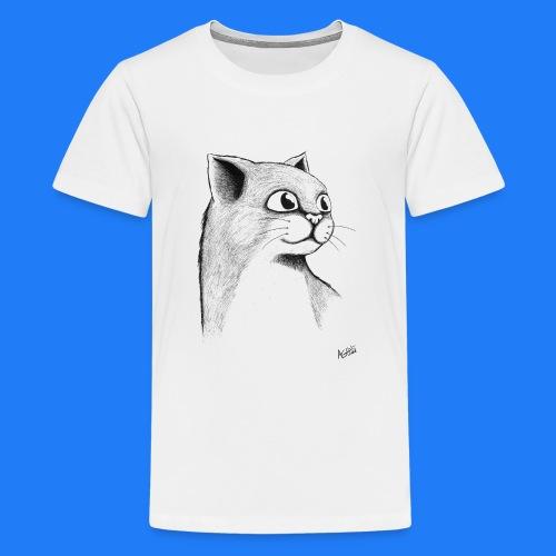 CAT HEAD by AGILL - T-shirt Premium Ado