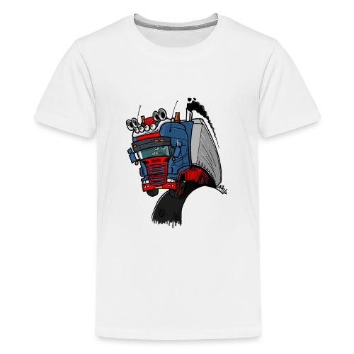 The flying skane man notext - Teenager Premium T-shirt