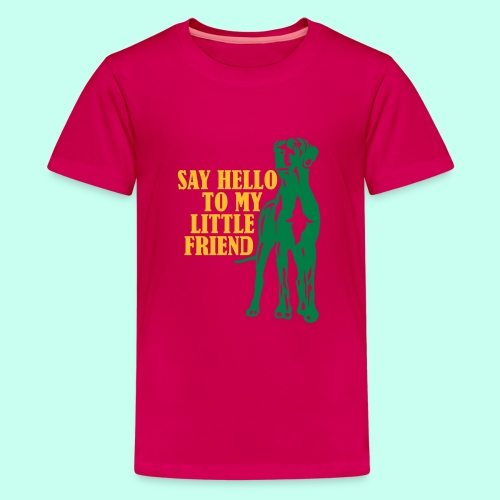Say Hello To My Little Friend - Teenager Premium T-Shirt