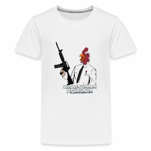 XPuBG Winner winner chicken dinner! - Teenage Premium T-Shirt