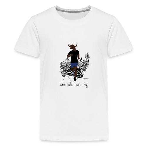 Buffle running - T-shirt Premium Ado