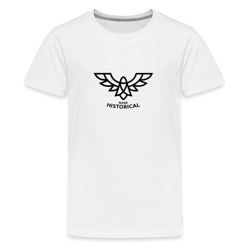 Text & Logo - Teenage Premium T-Shirt