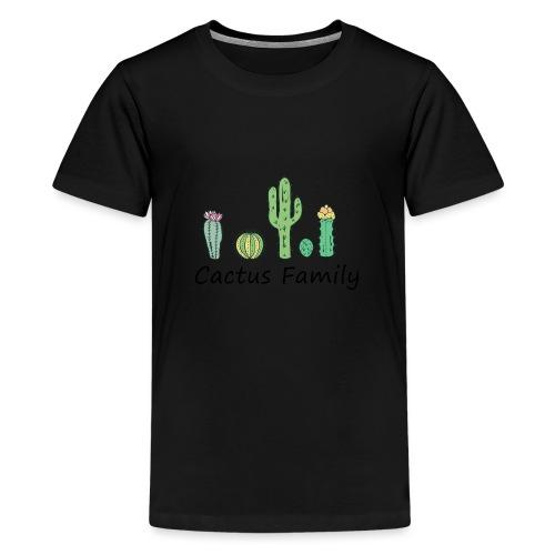 Cactus family - Teenager Premium T-Shirt