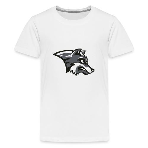 Wolf-Shirt by Noi & weiteren Anonymen Leuten - Teenager Premium T-Shirt