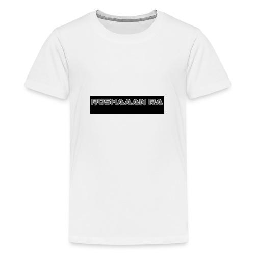 RoshaanRa - Teenage Premium T-Shirt