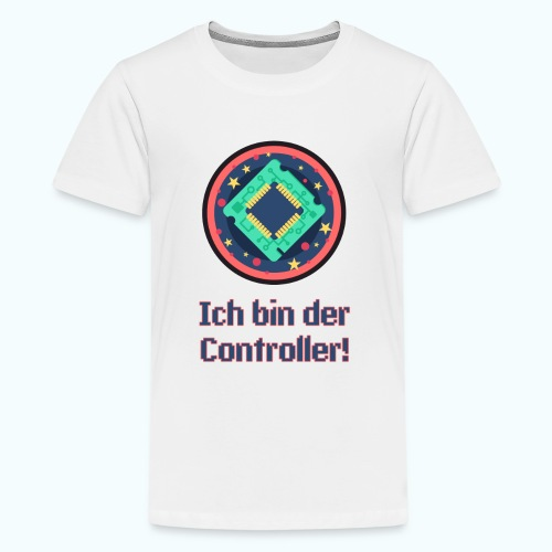 I am the controller - Teenage Premium T-Shirt