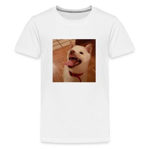 Mein Hund xD - Teenager Premium T-Shirt