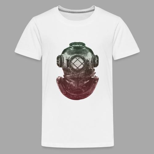 Diver - Teinien premium t-paita