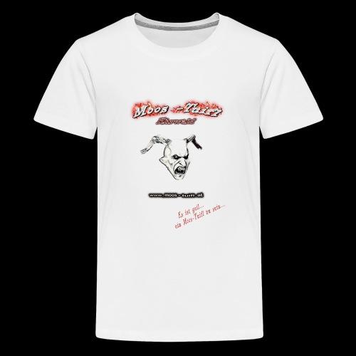 bedruck 2016 vorne original3 png - Teenager Premium T-Shirt