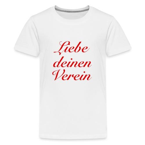 Verein - Teenager Premium T-Shirt