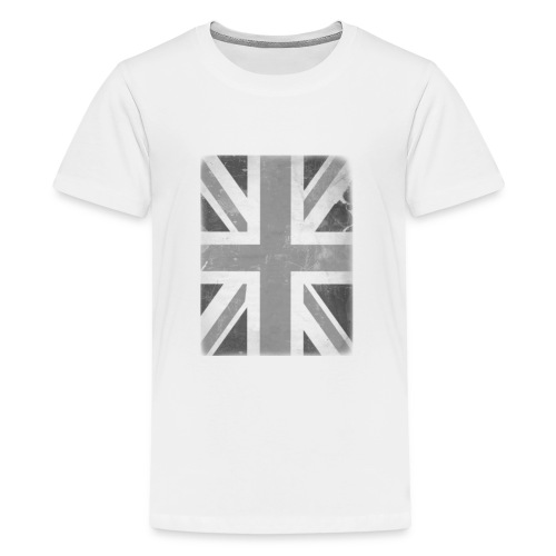 BW Union Jack - Teenage Premium T-Shirt