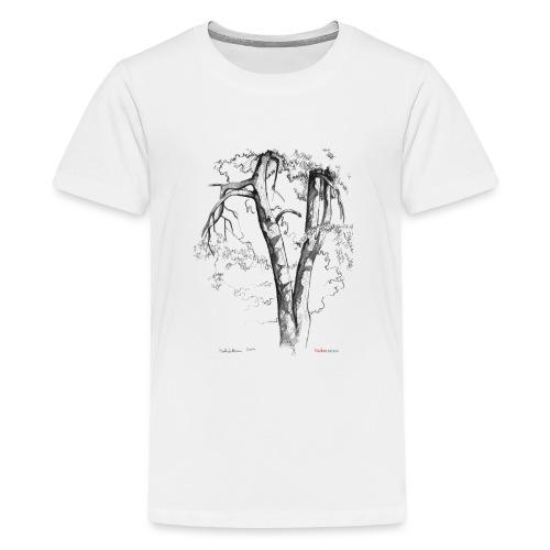 Halaus, Hug - Teinien premium t-paita