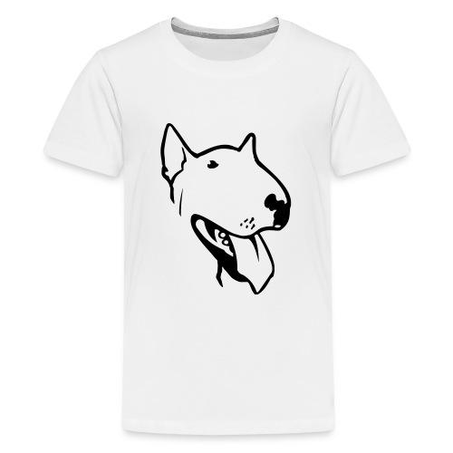 bull terrier2 - Teenage Premium T-Shirt