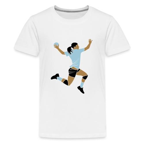 handballeuse - T-shirt Premium Ado