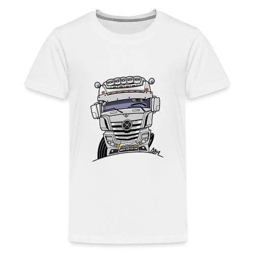 0807 M truck wit - Teenager Premium T-shirt