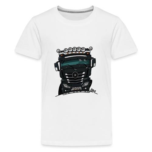 0807 M truck zwarter - Teenager Premium T-shirt
