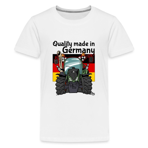quality made in germany F - Teenager Premium T-shirt