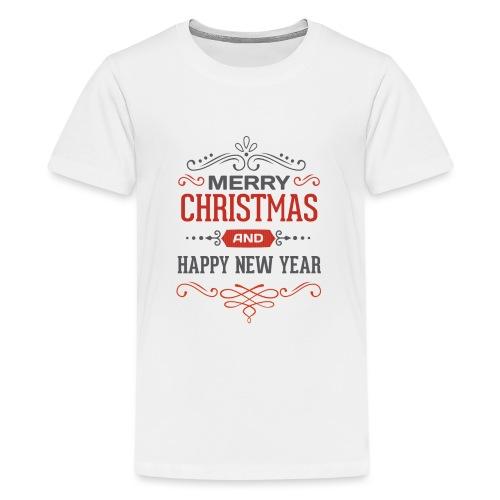 Joyeux Noël et Bonne Année - T-shirt Premium Ado