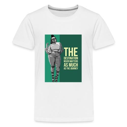girlquote - T-shirt Premium Ado
