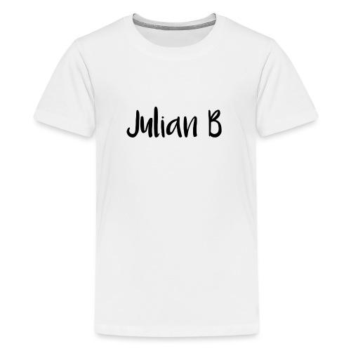 Julian-B-Merch - Premium T-skjorte for tenåringer