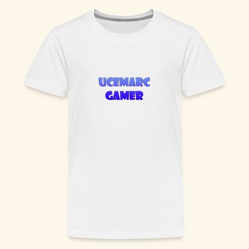 Logotipo del canal - Camiseta premium adolescente