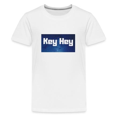 Key Hey Logo - Teenager Premium T-Shirt