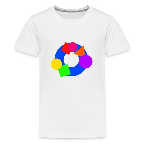 shapes - Teenage Premium T-Shirt
