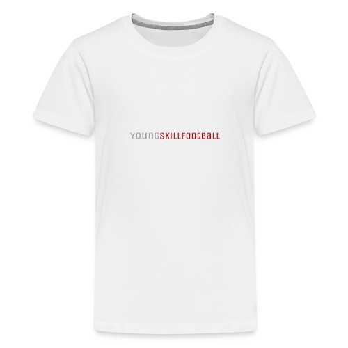 YoungSkillFootball - Teenager Premium T-Shirt