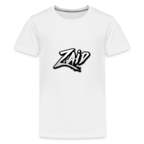 Zaid's logo - Teenage Premium T-Shirt
