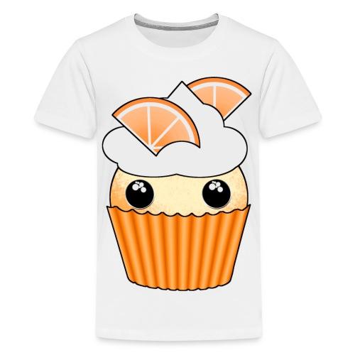 muffins apelsin orange med klyftor - Teenage Premium T-Shirt