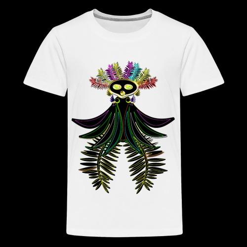 L'oiseau paradis néon - T-shirt Premium Ado