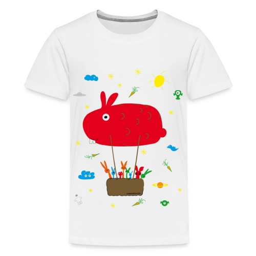 USS HASENPRISE HASE Häschen Bunny BALLON - Teenager Premium T-Shirt