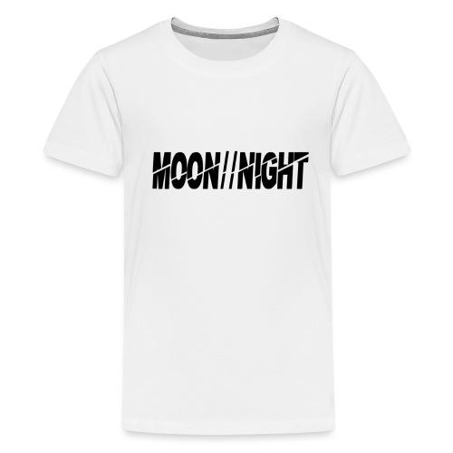 Moon//Night - Teenager Premium T-shirt