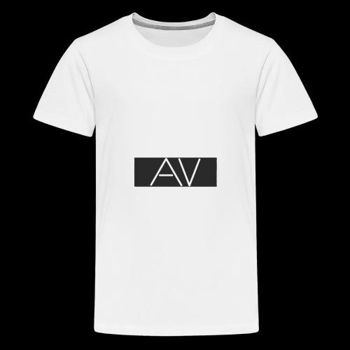 AV White - Teenage Premium T-Shirt
