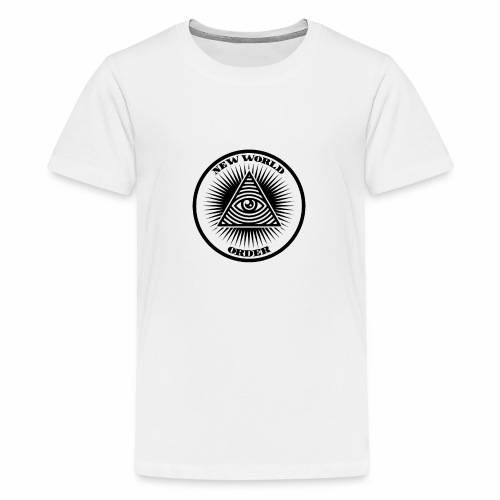 New world order - Teenager Premium T-Shirt