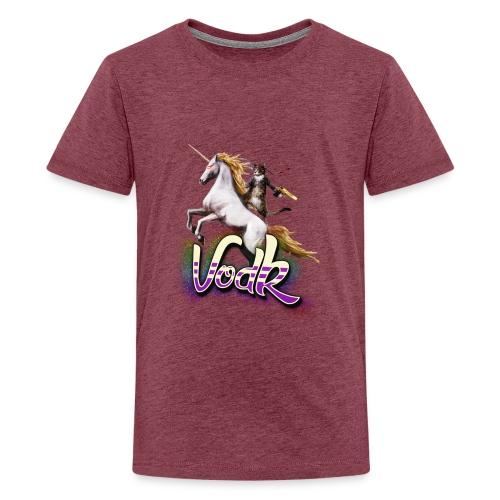 VodK licorne png - T-shirt Premium Ado