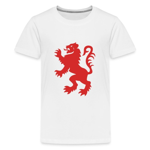 Red Lion Rampant - Teenage Premium T-Shirt