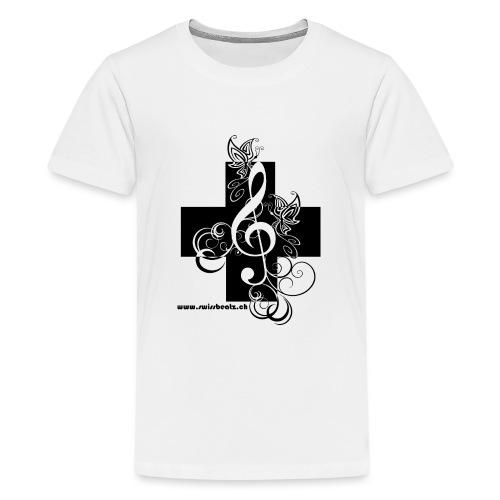 Swiss Beatz Logo non L - Teenager Premium T-Shirt