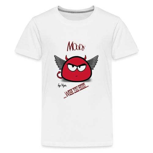 MOODY DEVIL - Maglietta Premium per ragazzi