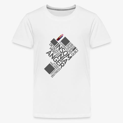 PTSD999 Wordle 5 - Teenage Premium T-Shirt